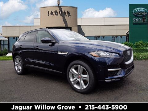 New 2018 Jaguar F-PACE 30t R-Sport With Navigation & AWD