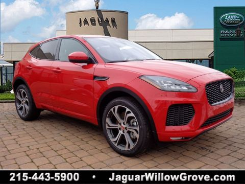 New 2018 Jaguar E-PACE First Edition With Navigation & AWD