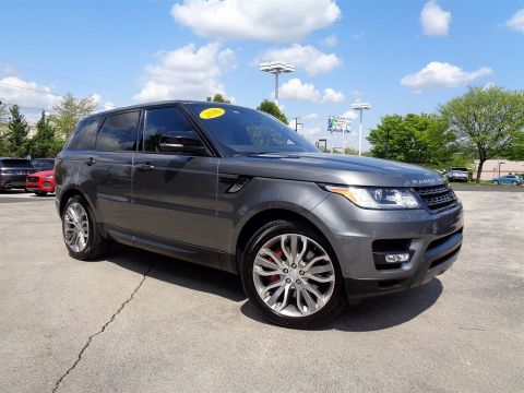 Certified Pre-Owned 2016 Land Rover Range Rover Sport V8 Dynamic With Navigation