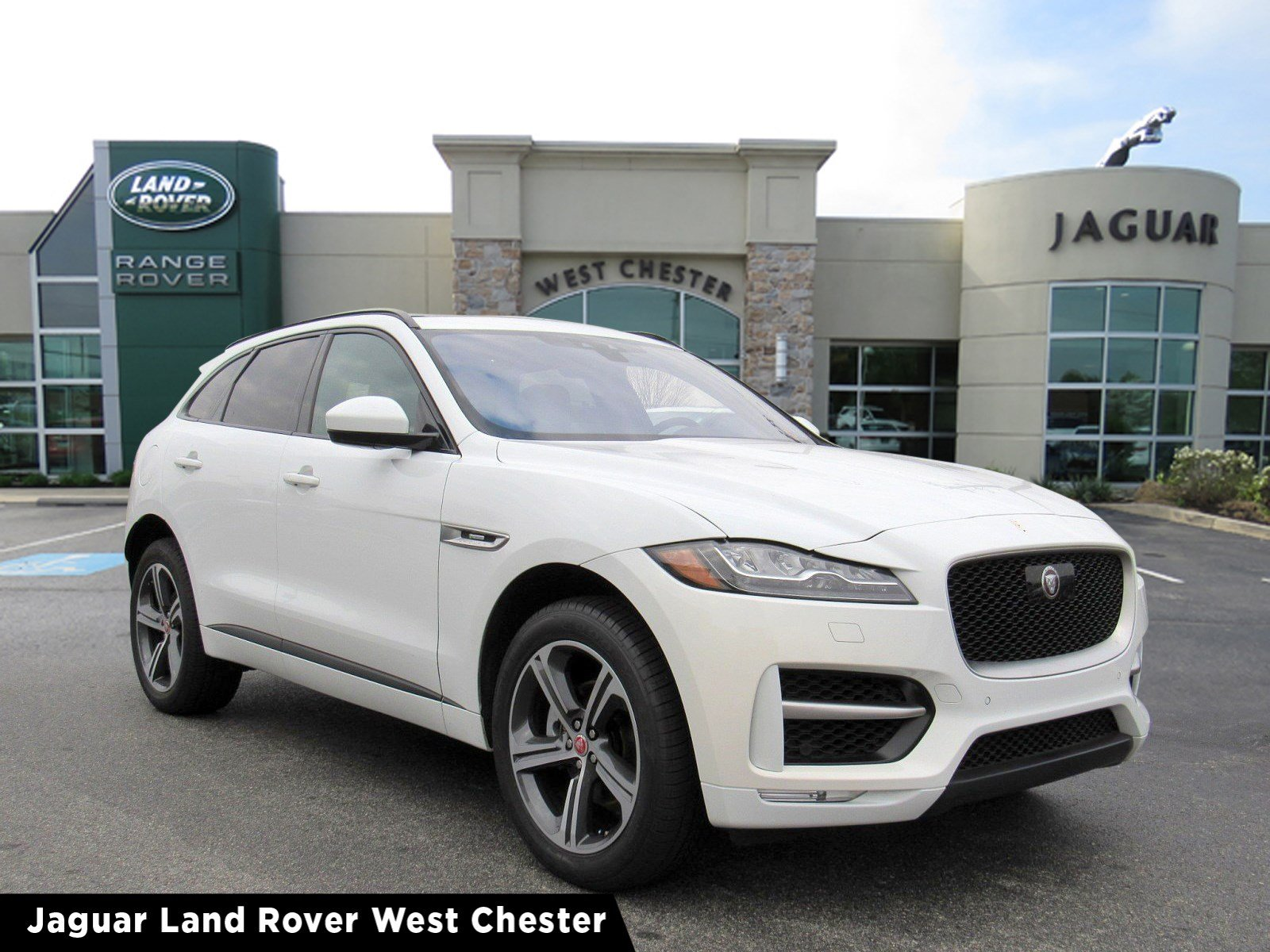 Pre Owned 2019 Jaguar F Pace 25t R Sport Sport Utility In Willow