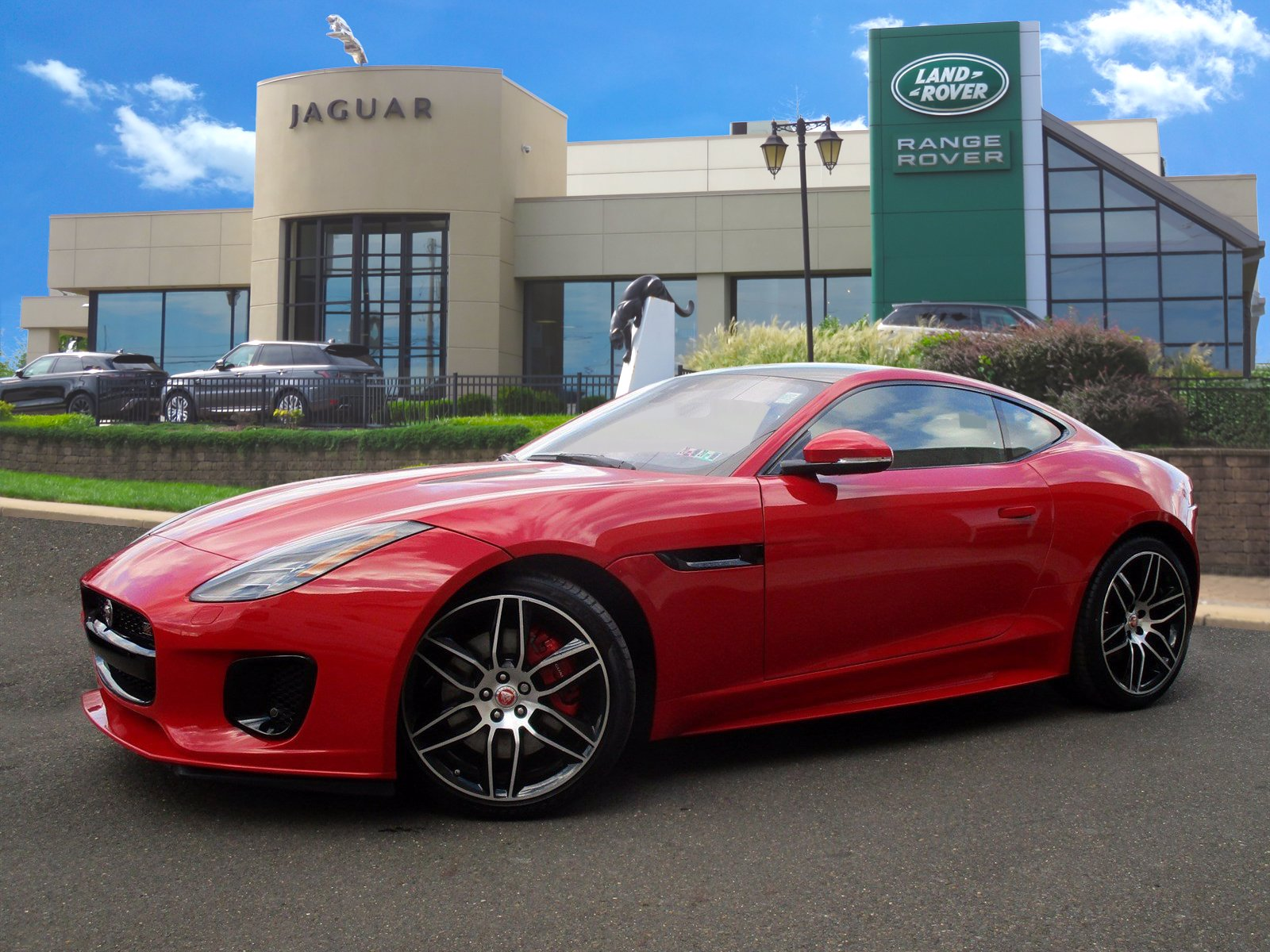 2020 Jaguar F-TYPE Checkered Flag With Navigation