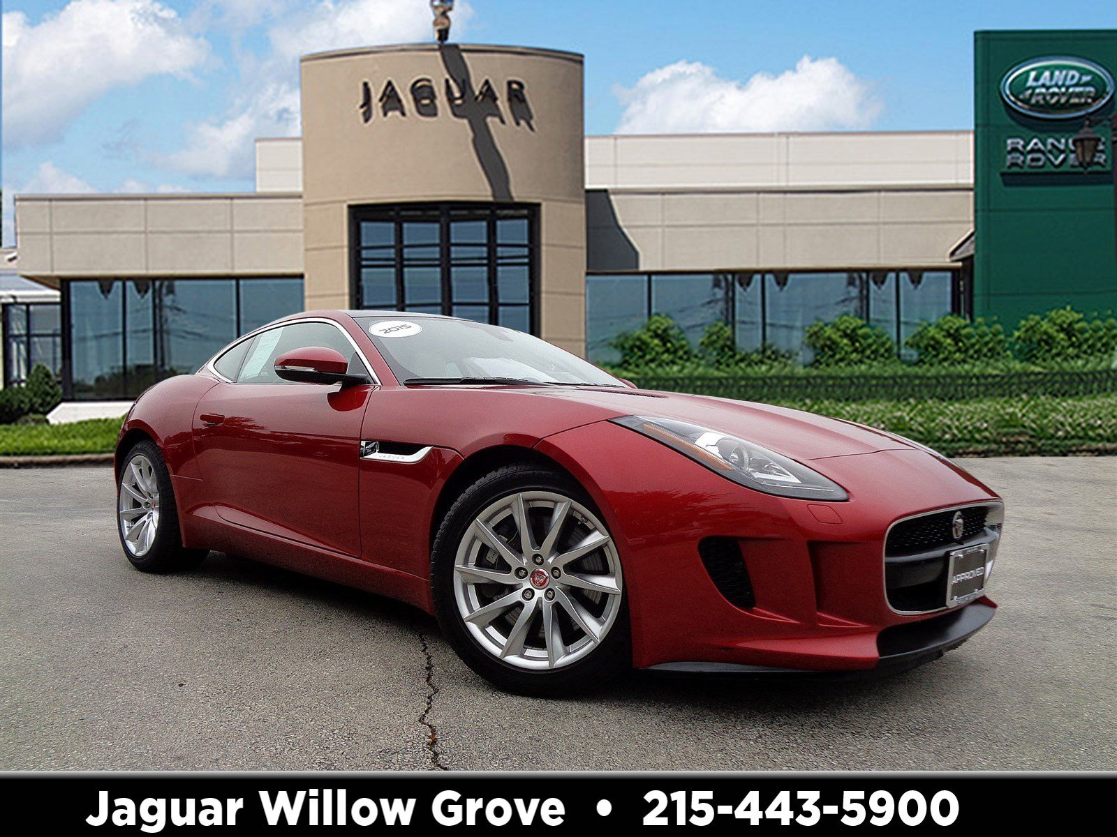Certified Pre-Owned 2015 Jaguar F-TYPE V6