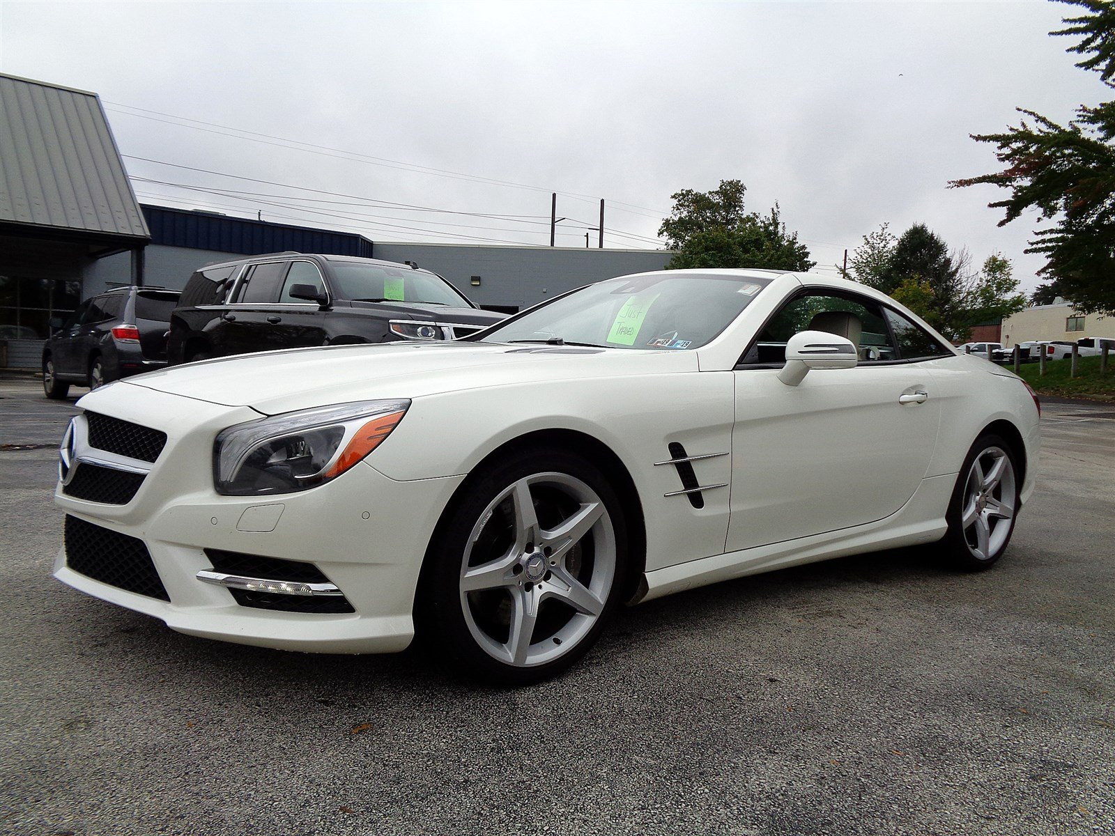 Pre Owned 2014 Mercedes Benz SL Class SL 550